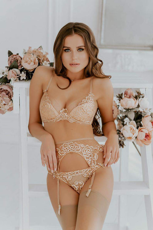 Gold Lingerie Set - Maven Flair