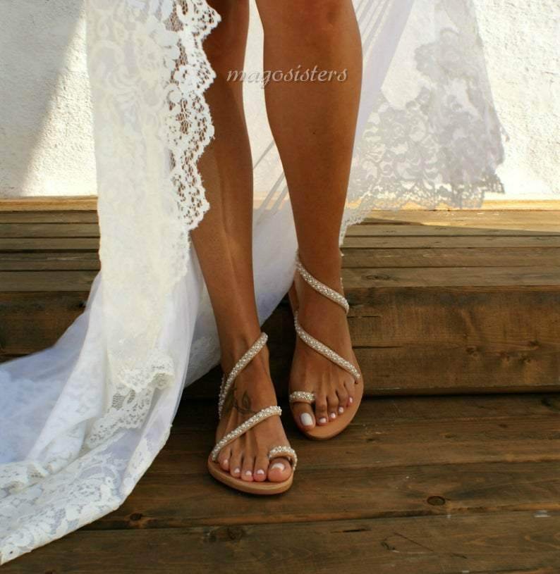 Wedding Sandals - Maven Flair