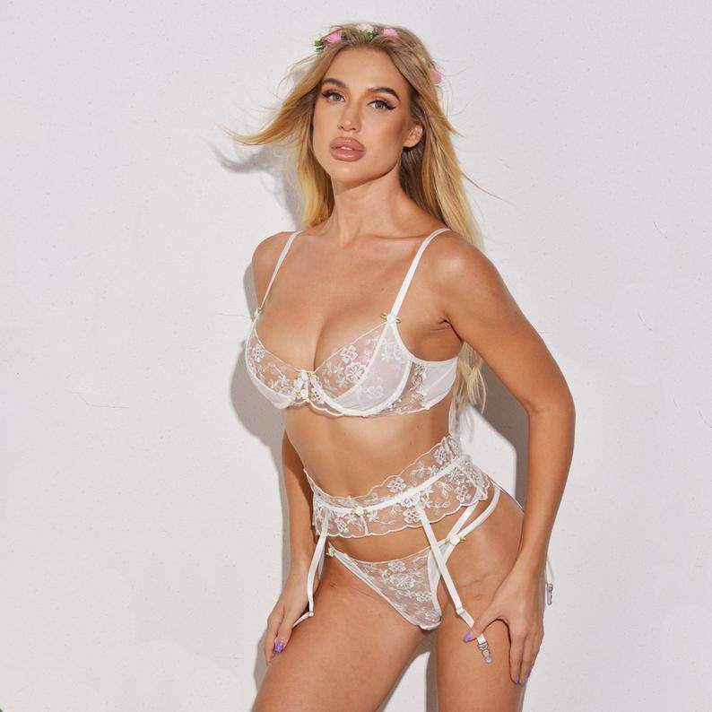 Bridal White Lingerie - Maven Flair
