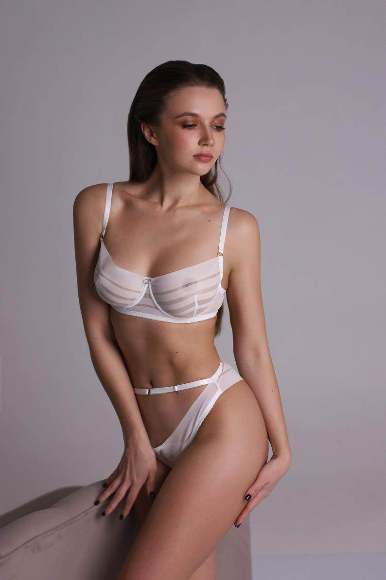 Transparent Lingerie Set