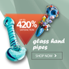 all glass hand pipes