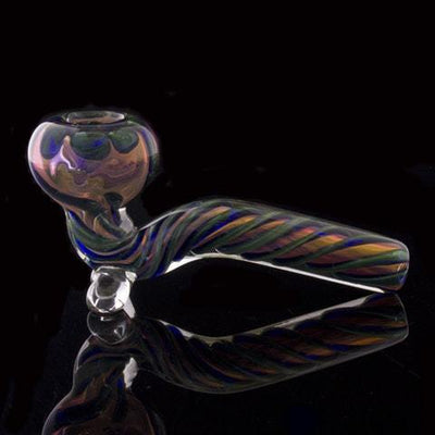 "4.5"" Sherlock Inside-Out Fumed Pipe, , Glassheads,- Hotboxed.com"