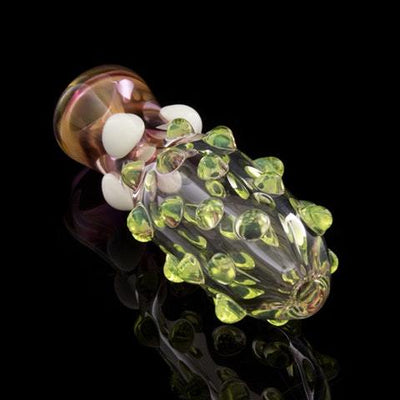 Marble Stubbed Chillum, , Glassheads,- Hotboxed.com