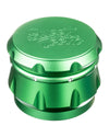 Green 4-Piece Diamond Crest Aluminum Grinder