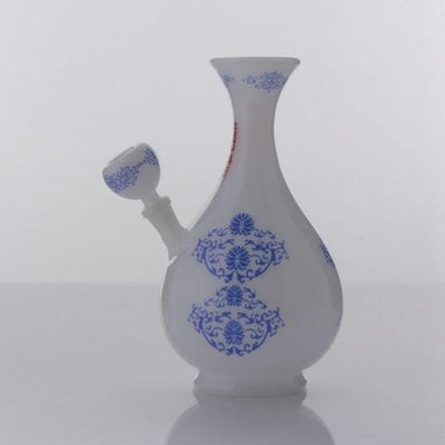 "The China Glass ""Huang Quin"" Dynasty Vase Water Pipe, , Glassheads,- Hotboxed.com"