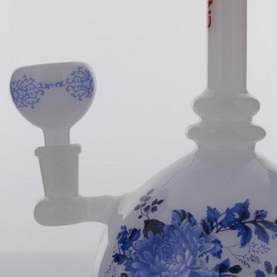 "The China Glass ""Zhou"" Dynasty Vase Water Pipe"