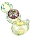 Fumed Mini Spoon Pipe with Mushroom Milli