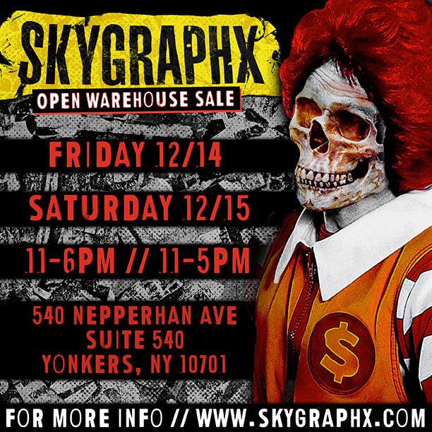 Skygraphx Open Warehouse Sale