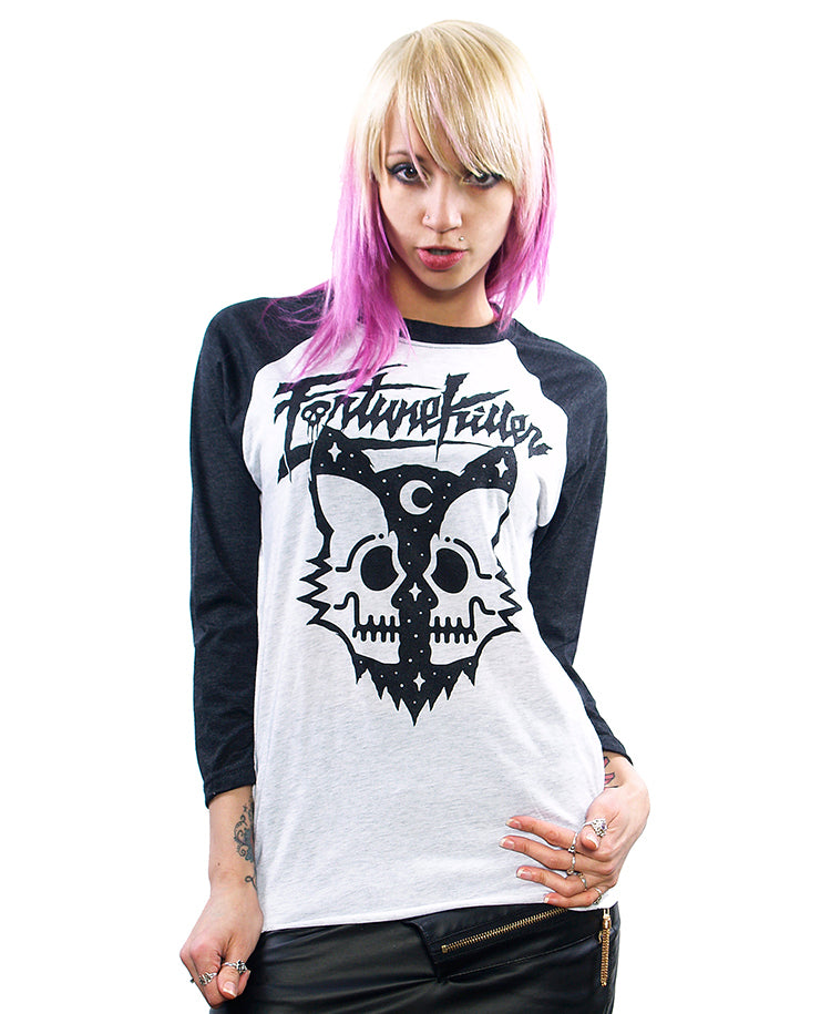KILLER CAT 3/4 SLEEVE UNISEX T