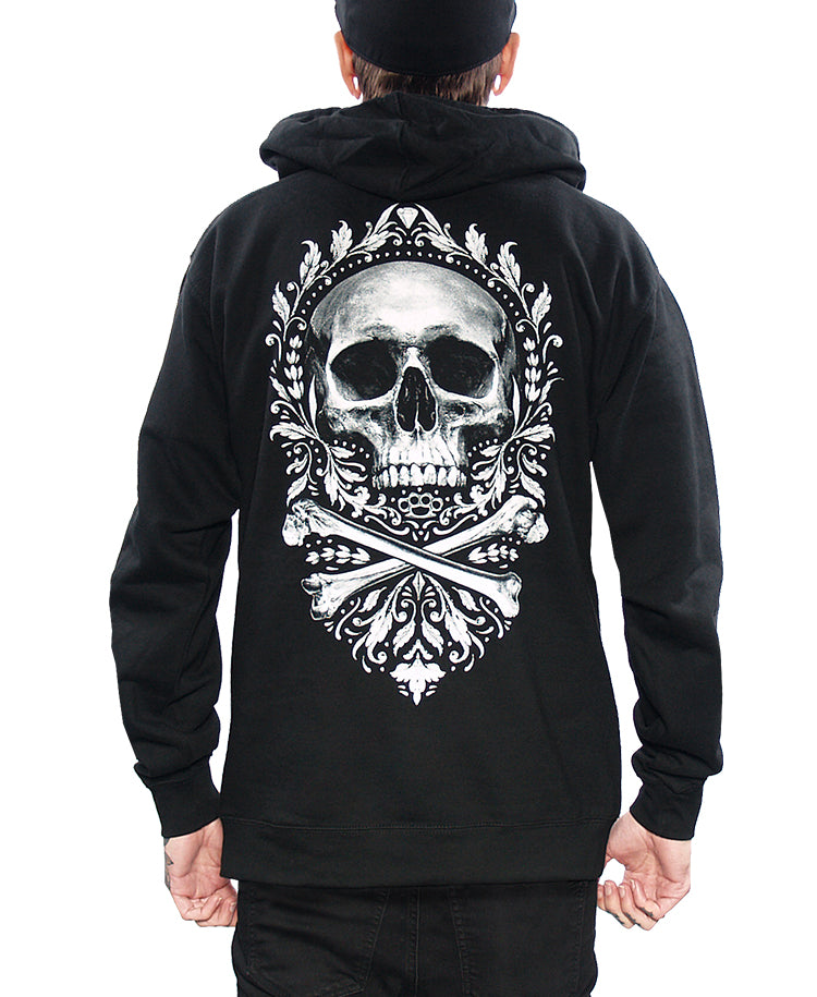 FLOURISH OF DEATH PULLOVER HOODIE
