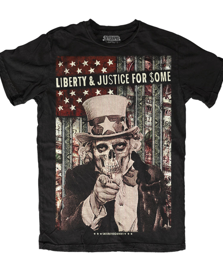 LIBERTY & JUSTICE FOR $OME