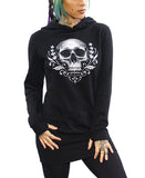 FLOURISH OF DEATH HOODIE DRESS