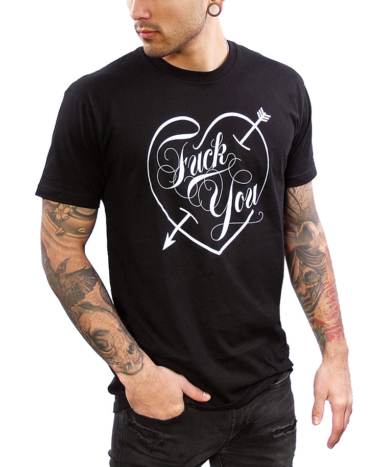 43cd13d36 Fuck You Love Mens T. Double click for enlarge