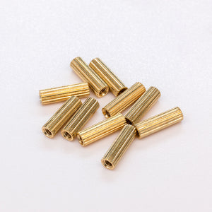 M2x10mm Brass Standoffs x10