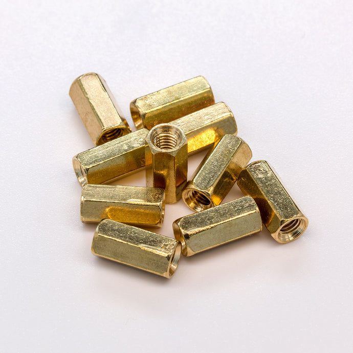 M3x10mm Brass Standoffs x10