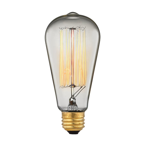 Vintage Filament Light Bulb - 60 Watt Medium Base