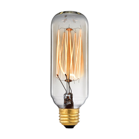 Vintage Filament Light Bulb - 40 Watt Candelabra Base