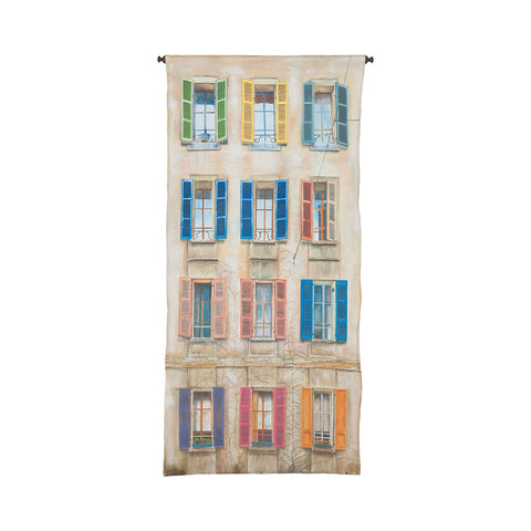 Window And Shutter Tapestry