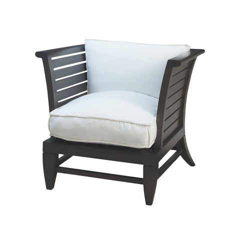 Teak Slat Patio Chair In Euro Teak Oil