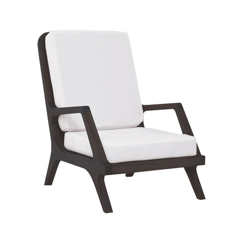 Teak Garden Lounge Chair In Euro Teak Oil