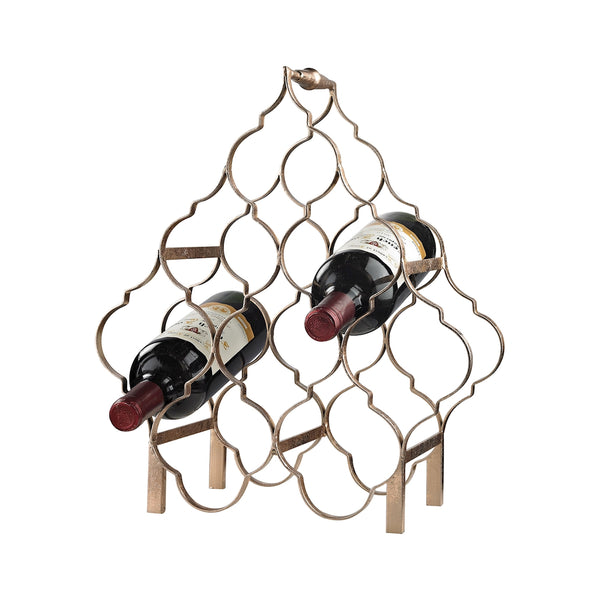 Quatrefoil Wine Rack