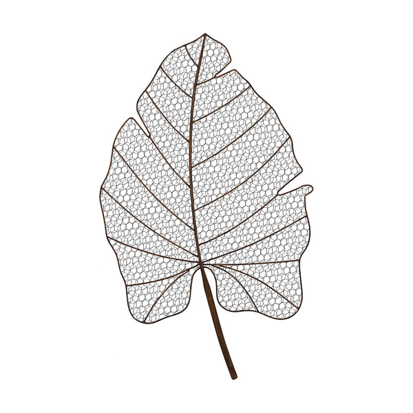 Wire Palm Frond Wall Decor