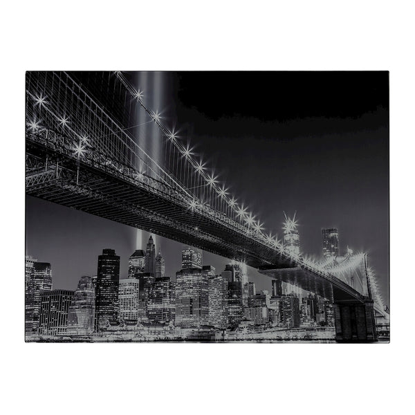 Williamsburg Bridge-Williamsburg Bridge Image Printed On Glass