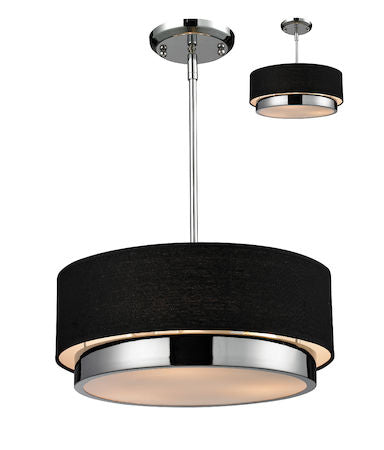 Z-Lite Jade 3 Light Chandelier 187-16