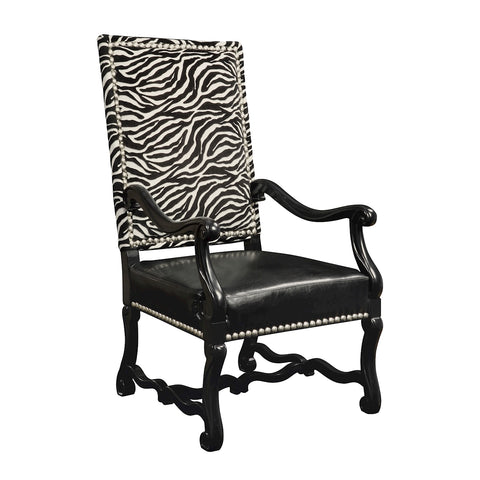 Wallace Chair In Black And White