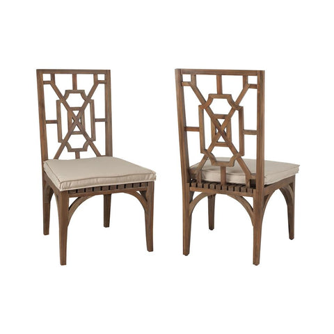 Teak Patio Dining Chairs In Euro Teak Oil