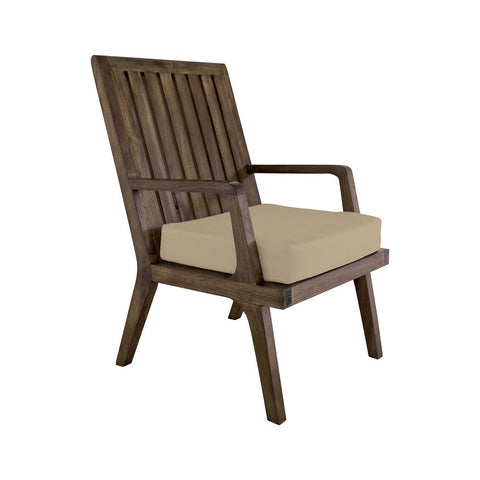 Teak Arm Chair In Euro Teak Oil