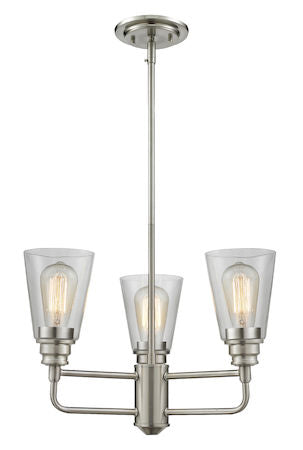 Z-Lite Annora 3 Light Chandelier 428-3-BN