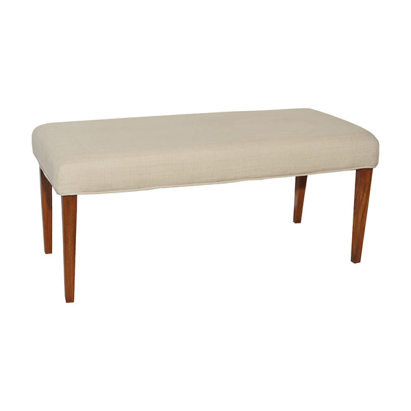Couture Covers Double Bench Cover - Light Cream