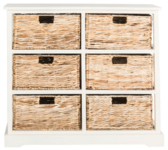 Safavieh Keenan 6 Wicker Basket Storage Chest AMH5740B