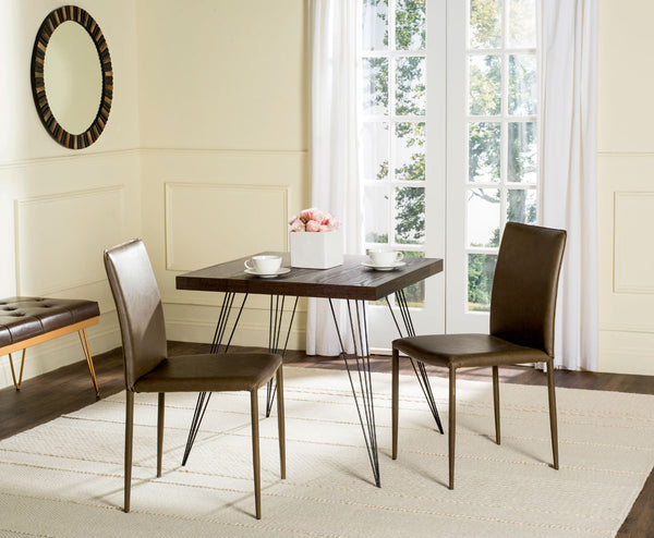 Safavieh Karna 19''H Dining Chair FOX2009Q-SET2
