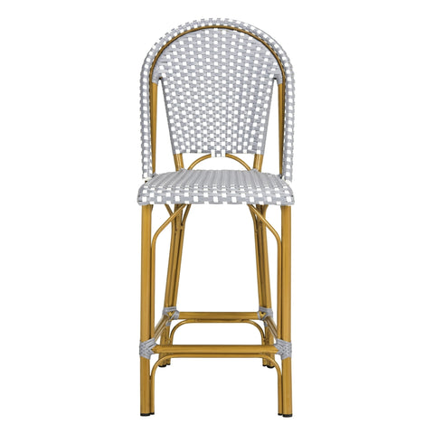 Safavieh Gresley Indoor-Outdoor Stacking French Bistro Counter Stool PAT4019B