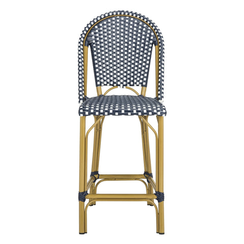 Safavieh Gresley Indoor-Outdoor Stacking French Bistro Counter Stool PAT4019A