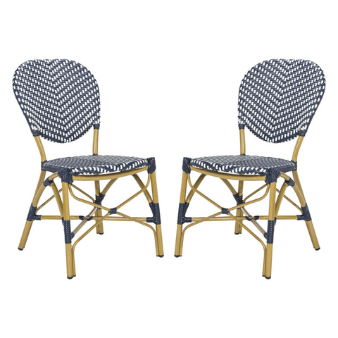 Safavieh Lisbeth French Bistro Stacking Side Chair PAT4010A-SET2