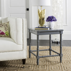 "Safavieh Liviah Modern Coastal 22"" H Bamboo Accent Table ACC3500C"