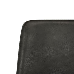 Safavieh Dawn Midcentury Modern Leather Swivel Dining Arm Chair ACH7002A