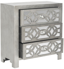 Safavieh Tasha 3 Drawer Chest/Grey AMH1505A