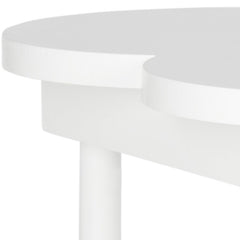 Safavieh Clover End Table/White AMH1513A