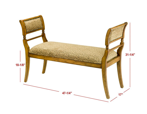 Safavieh Brody Upholstered Bench AMH4022A