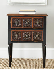 Safavieh Kenneth 2 Drawer Side Table AMH4052A