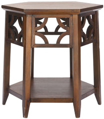 Safavieh Connr Hexagon End Table AMH4602A