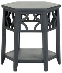 Safavieh Connr Hexagon End Table AMH4602B