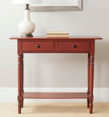 Safavieh Rosemary 2 Drawer Console AMH5705E