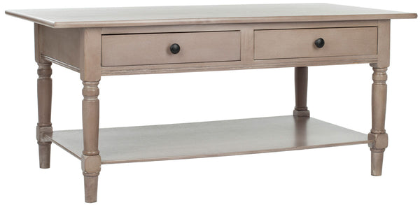 Safavieh Boris 2 Drawer Coffee Table AMH5706A
