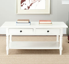Safavieh Boris 2 Drawer Coffee Table AMH5706C