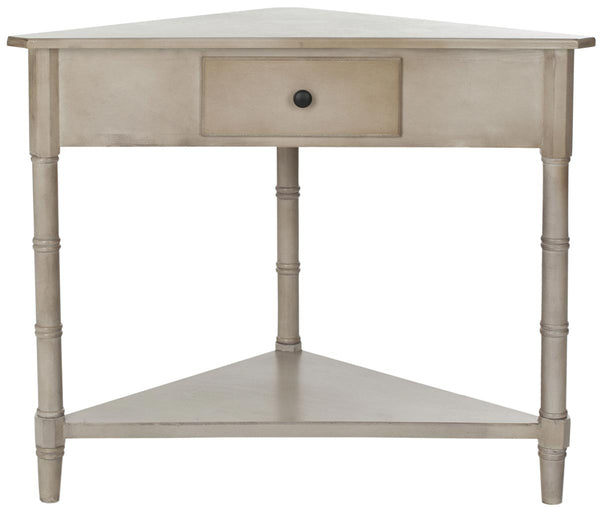 Safavieh Gomez Corner Table With Storage Drawer AMH5709A
